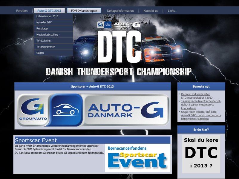 Website til DTC